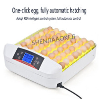 56 eggs home incubator Automatic incubator Egg hatching machine One-button LED egg tester with temperature control 110-220V