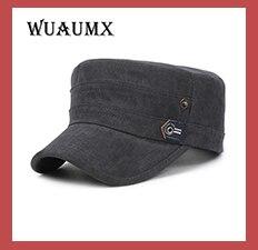 Retail NEW baseball cap women men Cadet Cap male Retro hat Leather brim  casual Female Hat 115d5d66a2e3