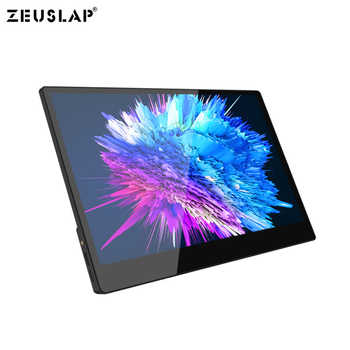 13.3inch 15.6inch 1920X1080P Full HD 72% NTSC 10 Point Touch Mirror Panel for PS3 PS4 Switch XBOX ONE Touching Screen Monitor
