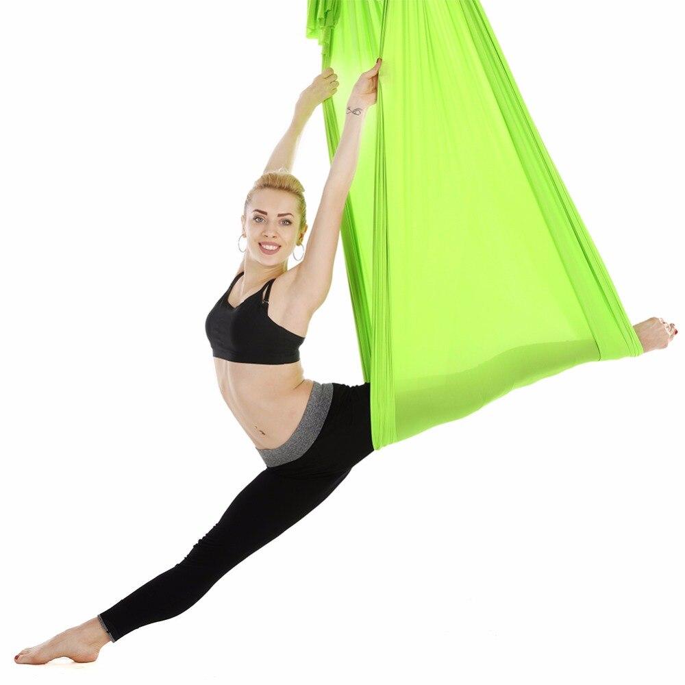 Antena voladora Yoga Hamaca Anti-Gravedad Cinturones de oscilación - Mueble - foto 4