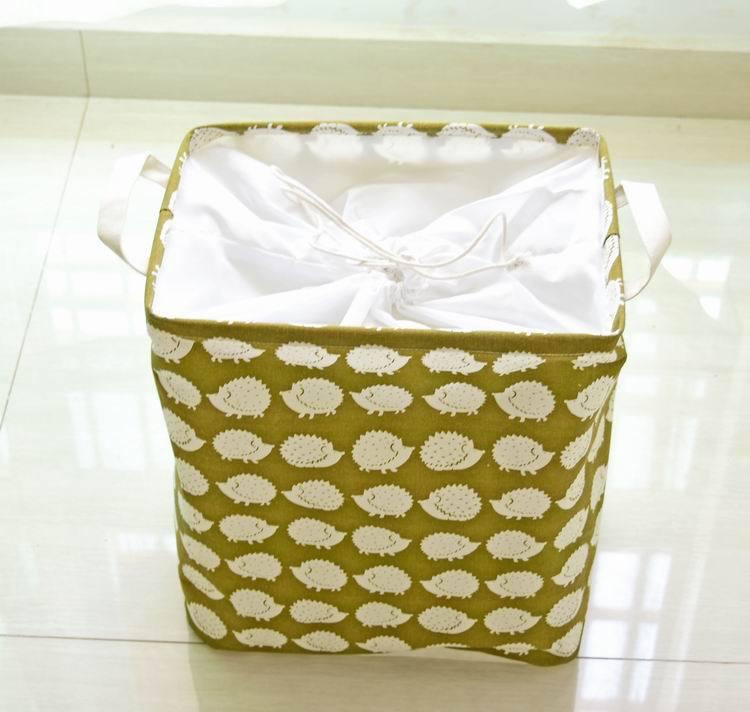 Bear Dirty Clothing Laundry Basket Zakka Picnic Storage Bags Folding Toys  Hamper