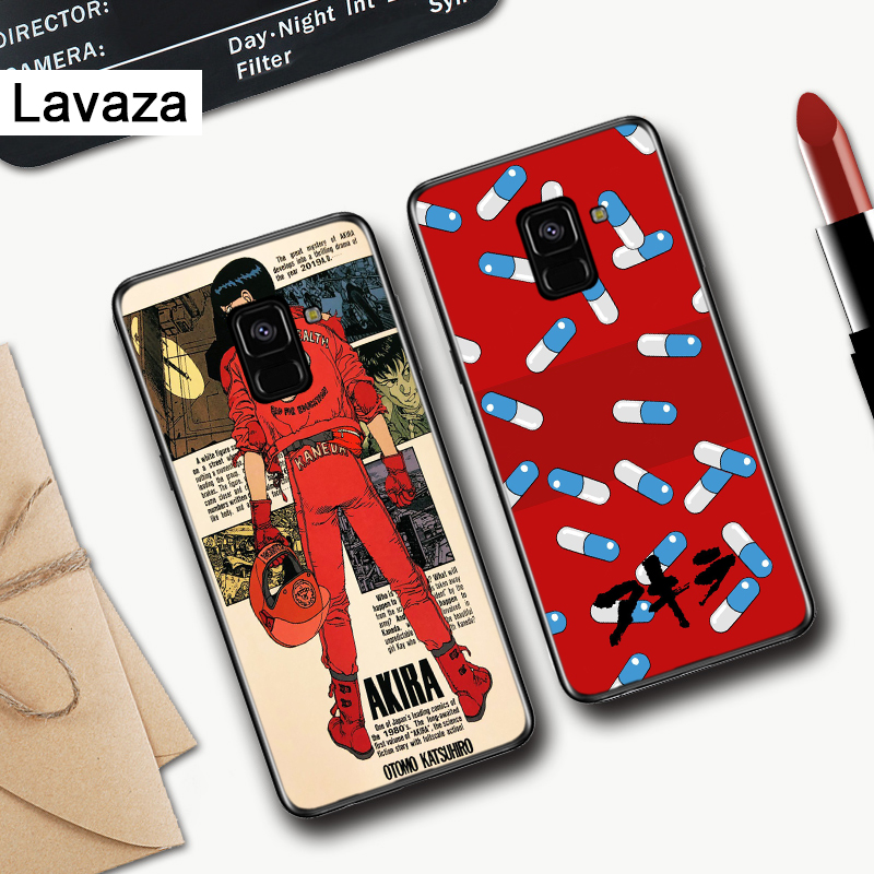 Lavaza Akira 1988 Film Anime Silicone Case for Samsung A3 A5 A6 Plus A7 A8 A9 A10 A30 A40 A50 A70 J6 A10S A30S A50S in Fitted Cases from Cellphones Telecommunications