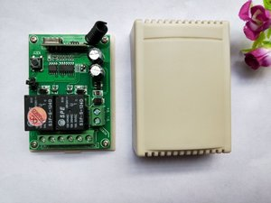 Image 5 - Беспроводной радиоприемник teleswitch 2, передатчик и приемник, 2 канала, DC24V, RF
