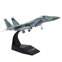 1/100 Scale F 15 Eagle Fighter Metal Fighter Military Model Fairchild Plane Model For Commemorate Collection or Gift
