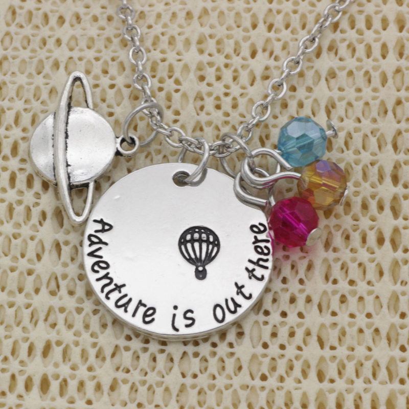 Detail Feedback Questions about Adventure Is Out There Pendant Necklaces Hot Air Balloon Explore Travel Graduation Jewelry Gifts Wanderlust Greatist Sky ... & Detail Feedback Questions about Adventure Is Out There Pendant ...