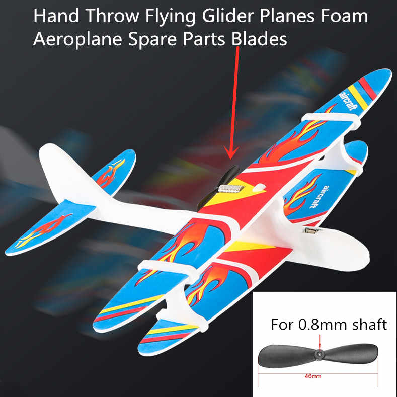 Hand Throwing Airplane Free flying Fix Wing Durable Epp Foam