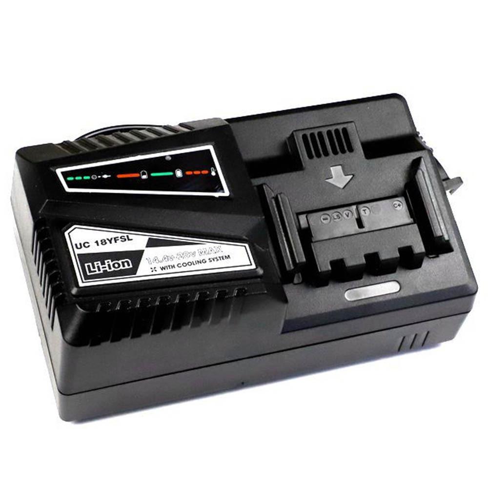14.4V à 18V rapide Li-Ion chargeur de batterie remplacer pour HITACHI UC18YKSL