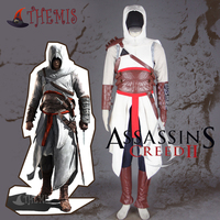 Athemis Assassin's Creed I Altair cosplay costume Any size Jacket sweater hat high quality fabric and resin accessories 14 PCS