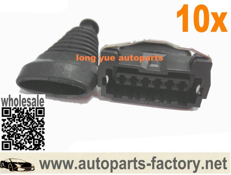 longyue 10set AMF MAF jungtis, oro srauto matuoklio diržų kištuko dėklas, skirtas Z32 300zx 22680-30p00