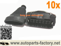 longyue 10set AMF MAF Connector Mass Air Flow Meter Harness Plug Case For Z32 300zx 22680-30p00
