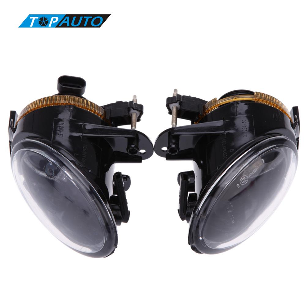 Car-styling Fog Light Lens for VW Passat B6 Front Bumper Pair of Fog Lights Driving Lamp Cars Running Lights for Passat B6 car fog lights lamp for mitsubishi triton 2 door 2009 on clear lens pair set wiring kit fog light set free shipping