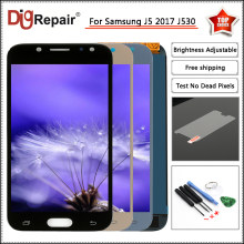 j530f lcd For Samsung Galaxy J5 Pro 2017 lcd J530 J530F SM-J530F LCD Display Touch Screen Digitizer For Samsung J5 2017 Display(China)