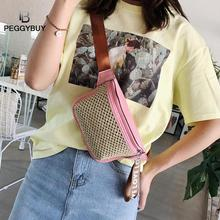 Straw Shoulder Bag for Women 2019 Waist Chest Bags Fanny Packs Small Crossbody Panny Pack