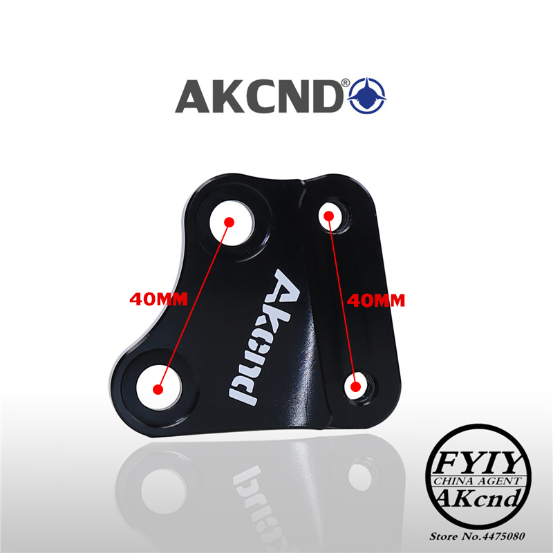 Image 5 - Motorcycle modifivation CNC aluminim alliy brake caliper bracket For HONDA scr110 sdh110t dio rx125 40mm brake caliper bracket-in Brake Shoe Sets from Automobiles & Motorcycles