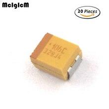 R171-09 20pcs B 3528 10uF 16V SMD tantalum capacitor