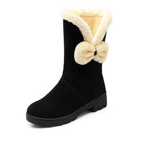 calcados infantis meninas botas outono inverno 2017 novas criancas grandes botas de neve quente crianca