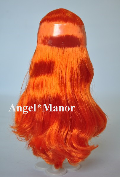 Головы с волосами для блит, Не кукла, Вьющиеся длинные волосы, Кожи, Для подарка девушке TP026