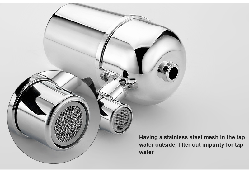 Tap Water Purifier Filled with Activated Carbon to Retain Beneficial Minerals and Remove Impurities 9