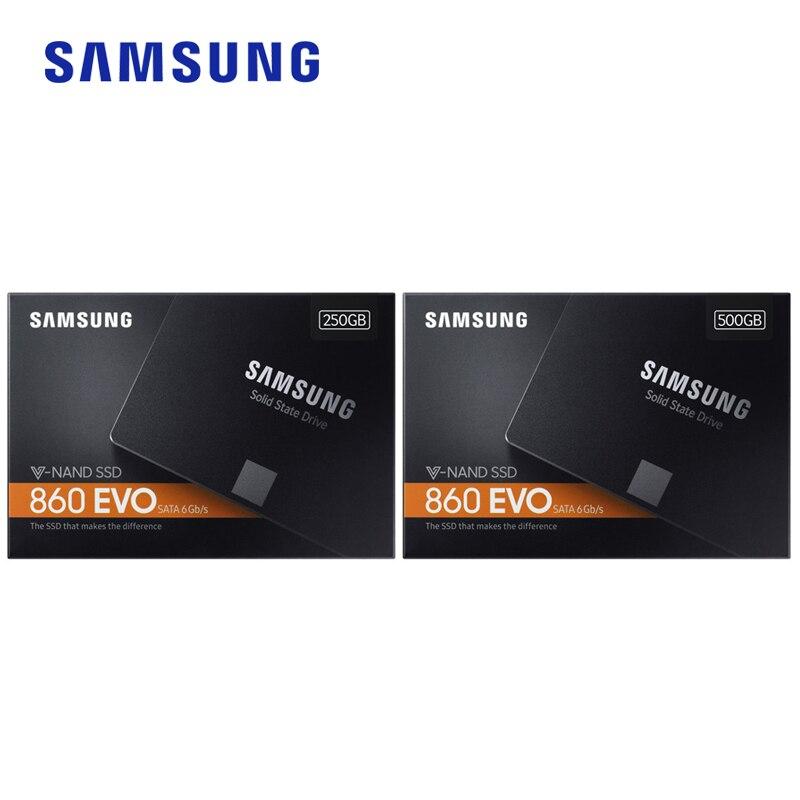 Samsung 860 EVO SSD 250 GB 500 GB 1 TO Interne disque SSD HDD Disque Dur SATA3 2.5 pouces Pour Ordinateur Portable ordinateur de bureau disque HD SSD - 6