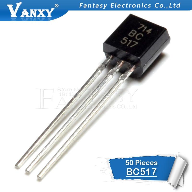 50PCS BC517 TO92 BC517 TO92