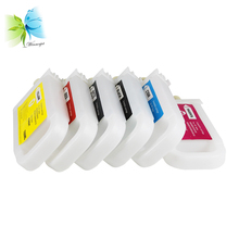 Winnerjet 6 colors PFI-706 PFI-306 refillable ink cartridge with chip for Canon ipf8400se