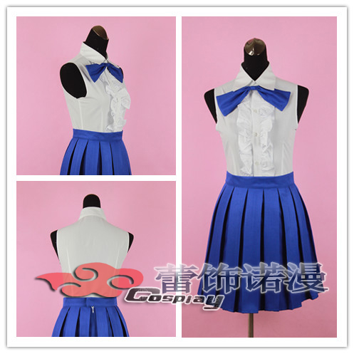 Anime Fairy Tail Lucy Cosplay Costume Custom Made Any Size On