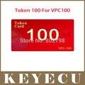 100 Tokens para SuperOBD VPC-100 Handheld PIN code Calculator VPC100 IMMO Leitor de código de Chave