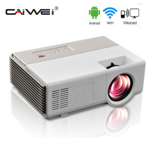 Buy online CAIWEI Portable Projector wifi Android Portable Lcd led projector full HD 1080P home cinema theater Video Proyector for labtop