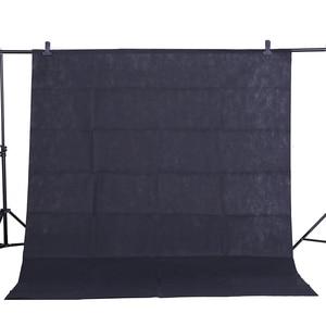 Image 2 - חמה למכירה 1.6 m * 2 m CY/5.2ft 6.5ft * רקע צילום סטודיו רקע לא ארוג 10 צבע חאקי צהוב שחור לבן ירוק ורוד