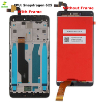 New LCD+Frame For Xiaomi Redmi Note 4X LCD Display Screen For Redmi Note 4 Global Version LCD Display Only CPU Snapdragon 625