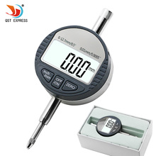 0-12.7mm/0.5″ Digital Dial Indicator 0.01mm/0.0005″ Electronic dial indicator Gauge Meter  Measuring Instruments Data Output
