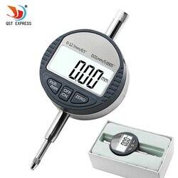 """0 12.7mm/0.5 """"cyfrowy wskaźnik wybierania 0.01mm/0.0005"""" elektroniczny wskaźnik pomiarowy miernik przyrządy pomiarowe wyjście danych w Zestawy narzędzi ręcznych od Narzędzia na"""