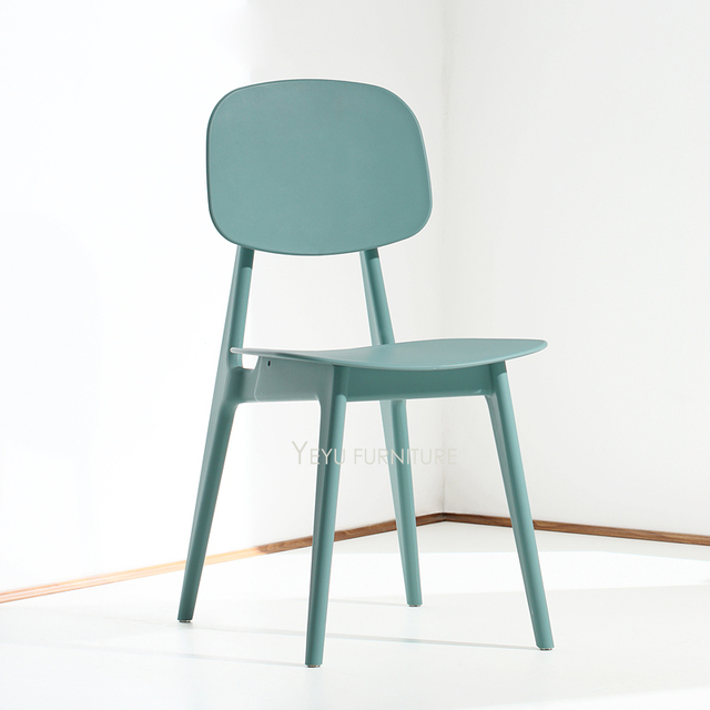 Minimalist Modern Design Plastic Nice Color Dining Side Chair, Fashion  Colorful Cafe Chair, Modern