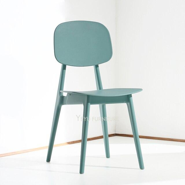 Minimalista Moderno Design In Plastica Colore Piacevole Da Pranzo ...