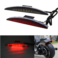 Rear LED Fender Tip TailLight For Harley Softail FXSB Breakout 2013 2014 2015 2016 Softail Motorcycle Tail Brake Light Lamp