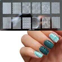1шт. Новий дизайнерський дизайн нігтів. Штампування пластин. Манікюрний шаблон. DIY-польський шаблон для штампування нігтів. 20 стилів.