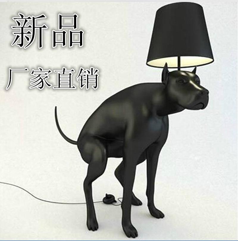 modern brief unique personality wellsore floor lamp rhadames dog floor lamp