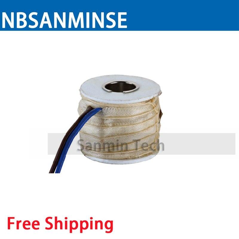 KR - 16 Mini Type Magnetic Valve Coil Electrical Solenoid Valve Coil AC220V Voltage Lead Type Valve Coil Sanmin korg kr mini