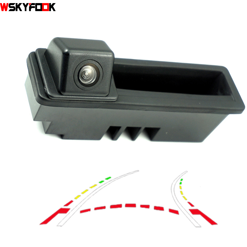 CCD 600Line Dynamic Trajectory Trunk handle Rear Camera For Posche Cayenne Audi A4 A4L A6 A6L A7 A5 Q7 Q5 Q3 RS5 RS6 A3 A8L Cam radiator fan controller module for audi a4 a5 a6 a7 q3 q5 8k0959501g 8k0910501d cooling fans control