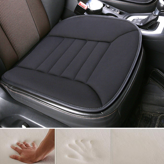 2019 memory sponge universal easy install non-slide auto car seat cushion stay on seats not moves office/home seat covers