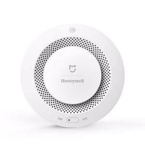 Image 2 - In Shock Original Xiaomi Mijia Honeywell Smart Fire Alarm Progressive Sound Photoelectric Smoke Sensor Remote Linkage Mihome APP
