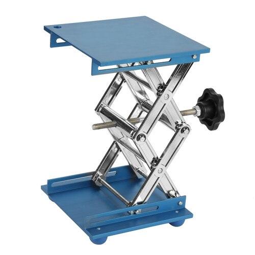 Профессиональный лабораторный домкрат, подъемная платформа, подставка для ножниц, 150*150*250 мм, 100 мм* 100 мм* 160 мм, Подъемные Инструменты - Цвет: 150x150x250 Blue