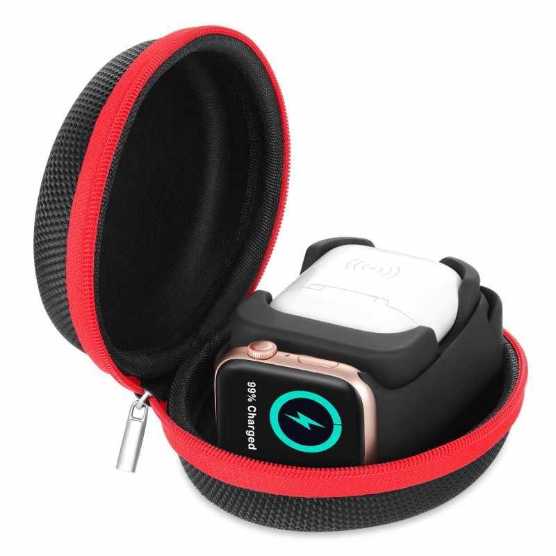 Коробка для хранения Apple Watch Зарядное устройство Док станция Iwatch зарядный чехол