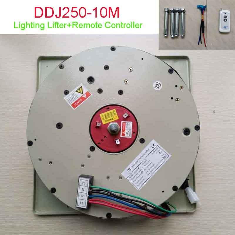 250 キロ 10 メートルシャンデリアホイスト照明リフターシャンデリアリフターシャンデリアウィンチライトシステム 110 V 、 120 V 、 220 V 、 230 V 、 240 V 送料無料