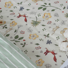 250x50cm Fox Twill Cotton Fabric DIY Childrens Wear Cloth Make Bedding Quilt Decoration Home 320g/m