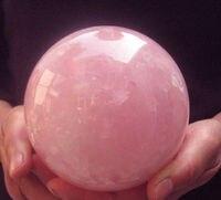 QUARTZ CRYSTAL home decoration New Beautiful AAA++1840G NATURAL ROSE QUARTZ CRYSTAL SPHERE BALL Healing