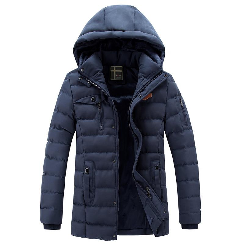 Manteaux blue D'hiver Black Capuche Slim À Neige Chaud Mode Épais De Coton Parka Hommes Bas yellow Conception Rembourré Marque Sl Fit e437 khaki Outwear Casual Bqw5E8