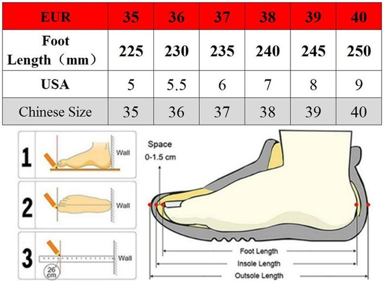 女鞋电脑尺码6.15