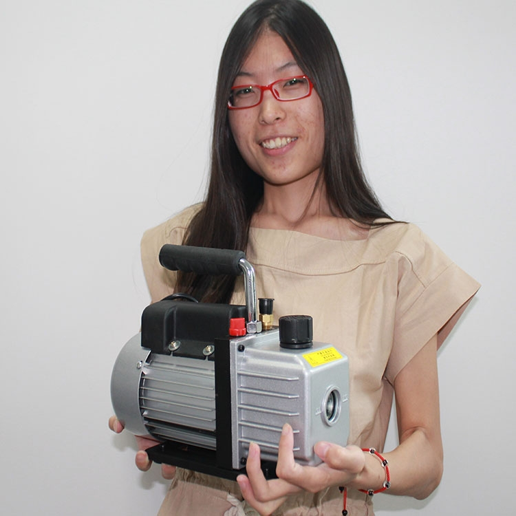 Single stage Rotary Vane Vacuum Pump Air Refrigerant vacuum pump manufacturer