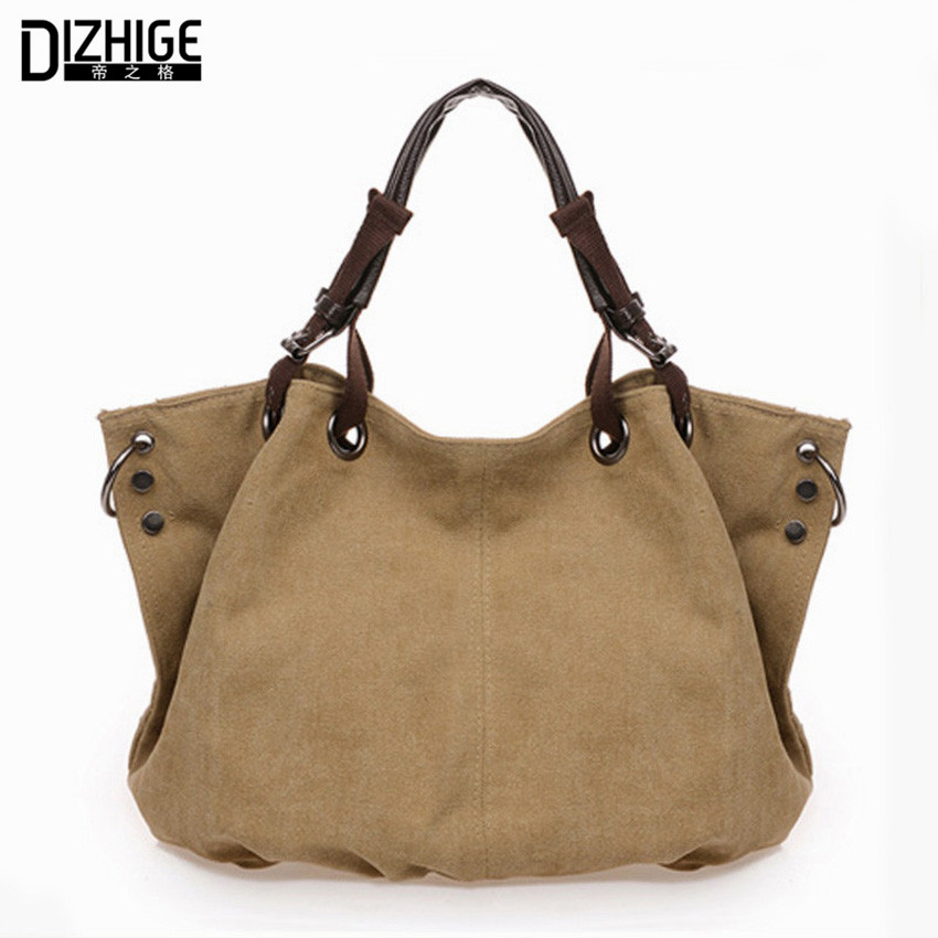 DIZHIGE Women Canvas Bag Luxury...